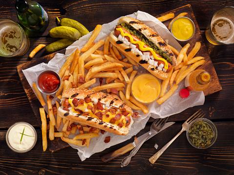 Picnic「Gourmet BBQ Hotdogs, Fries and Beers」:スマホ壁紙(17)