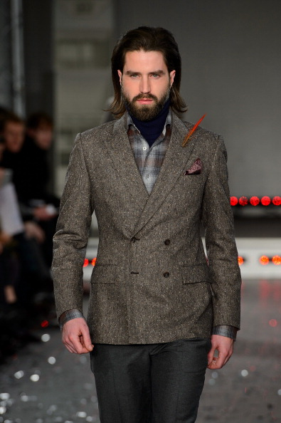 Winter Fashion Collection「Rake: Runway - London Collections: Men AW14」:写真・画像(12)[壁紙.com]