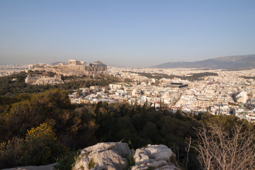 Restoring「Panoramic Skyline of the Acropolis in Athens」:スマホ壁紙(17)