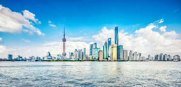 The Bund「Panoramic skyline of Shanghai」:スマホ壁紙(5)