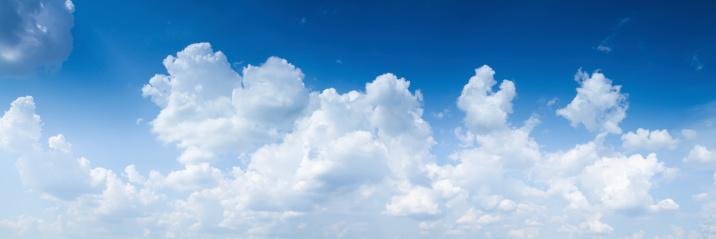 Cloud - Sky「Panoramic shot of sky with giants cumulonimbus clouds」:スマホ壁紙(10)