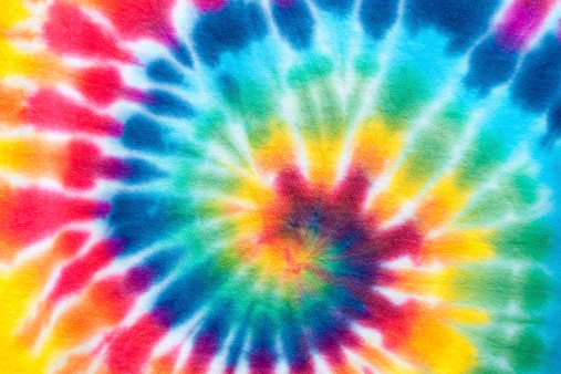Cool Attitude「Hypnotic Tie Dyed Spiral」:スマホ壁紙(4)