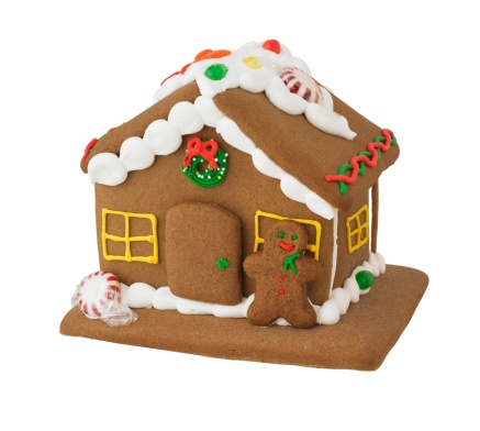 Gingerbread Cookie「Decorated gingerbread house」:スマホ壁紙(6)