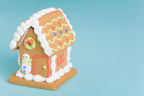 Gingerbread Cookie「Decorated gingerbread house」:スマホ壁紙(9)