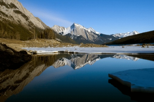 World Heritage「Medicine Lake, Jasper National Park, Alberta, Canada」:スマホ壁紙(18)