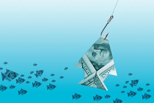 Paper Craft「Dollar Fish」:スマホ壁紙(7)