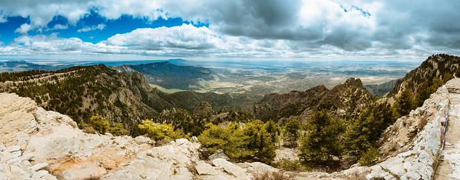 Sandia Peak「Sandia Peak Panorama Albuquerque」:スマホ壁紙(5)