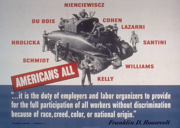 Franklin Roosevelt「'Americans All'」:写真・画像(0)[壁紙.com]
