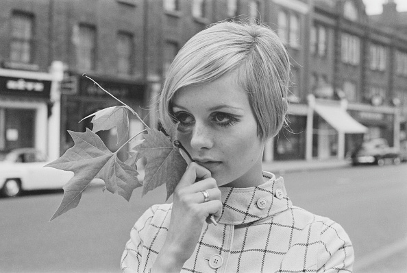 Fashion Model「Twiggy in London」:写真・画像(19)[壁紙.com]