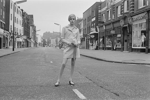Twiggy - Fashion Model「Twiggy in London」:写真・画像(3)[壁紙.com]