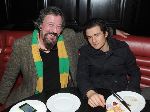 オーランド・ブルーム「The Cinema Society And Moncler Host A Screening Of New Line Cinema And MGM Pictures' 'The Hobbit: The Desolation Of Smaug' - After Party」:写真・画像(16)[壁紙.com]