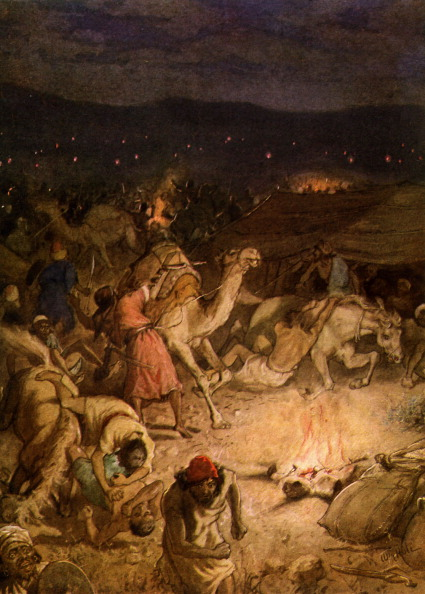 Israelite「The Sword of the Lord and of Gideon. Panic in the camp of the Midianites.」:写真・画像(12)[壁紙.com]