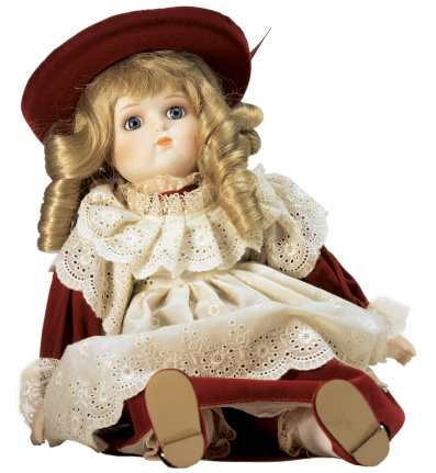 Doll「female doll sitting in red dress」:スマホ壁紙(17)
