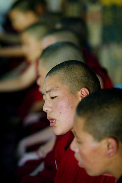 Convent「Tibetan Nuns Study In Nepal Monastery」:写真・画像(12)[壁紙.com]