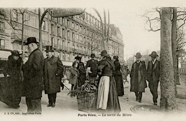 Land Vehicle「Paris Métro - entrance with art nouveau arch」:写真・画像(8)[壁紙.com]