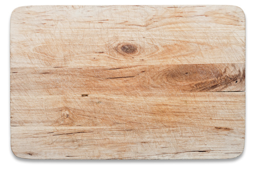 Cutting Board「Used wooden chopping board, isolated on white, clipping path」:スマホ壁紙(3)