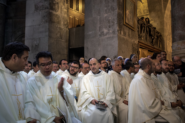 Religious Mass「Jerusalem Gears Up For Easter Celebrations」:写真・画像(9)[壁紙.com]