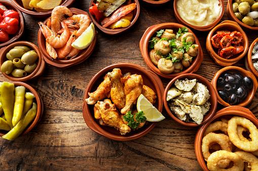 Tapas「Spanish Food: Tapas Still Life」:スマホ壁紙(14)