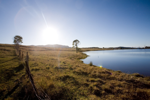 Wooden Post「Hunter Valley Rural Scenic」:スマホ壁紙(2)
