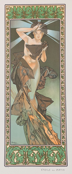 Chromolithograph「Étoile Du Matin (The Morning Star)」:写真・画像(18)[壁紙.com]