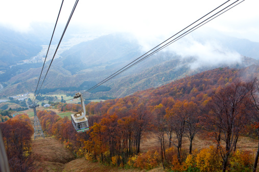 Aerial tramway「Cable Car at Mount Hakkaisan」:スマホ壁紙(16)