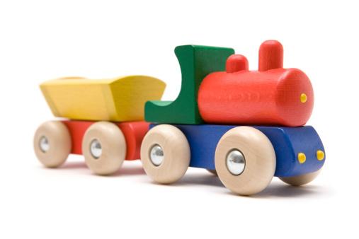 Model - Object「Wooden Toy Train」:スマホ壁紙(11)