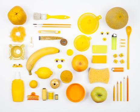 メロン「黄色の構成」:スマホ壁紙(15)