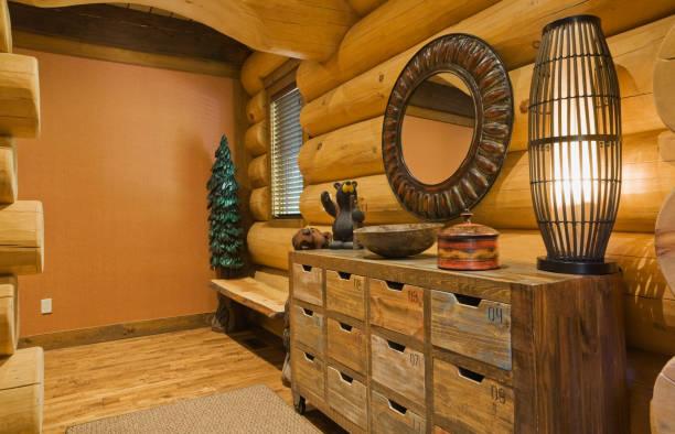 Old wooden yarn drawer cabinet:スマホ壁紙(壁紙.com)