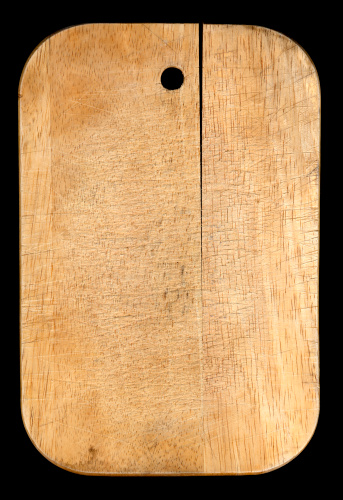 Cutting Board「old wooden chopping board」:スマホ壁紙(6)