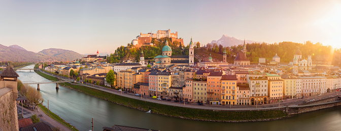 Austria「Salzburg Sunset, Salzburger Land, Austria」:スマホ壁紙(5)