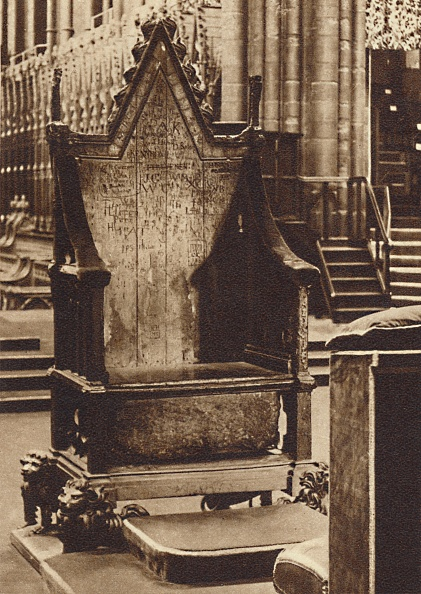 Chair「The Coronation Chair And The Stone Of Scone」:写真・画像(18)[壁紙.com]