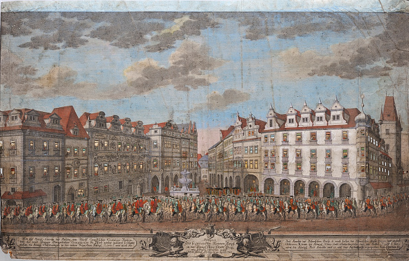Old Town「The Coronation Procession Of Maria Theresa In The Old Town Of Prague」:写真・画像(10)[壁紙.com]