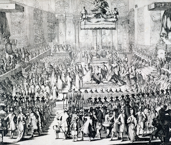 Congregation「The Coronation Of William III And Mary II Westminster Abbey London 21st April 1689」:写真・画像(10)[壁紙.com]