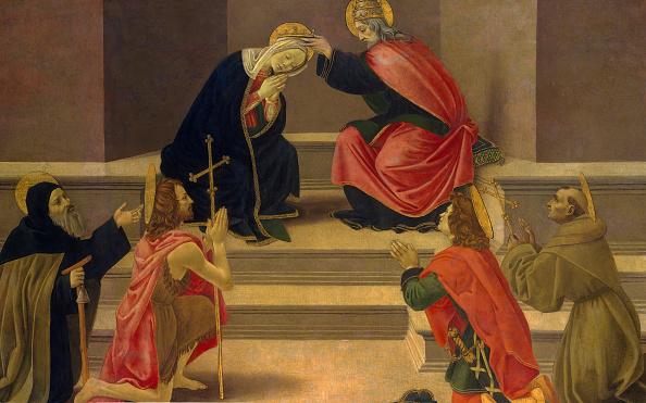 Virgin Mary「The Coronation Of The Virgin. Creator: Unknown.」:写真・画像(9)[壁紙.com]