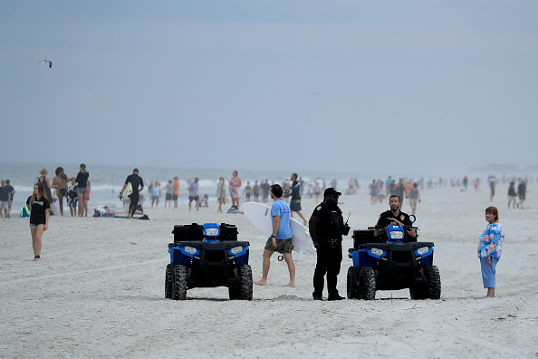 Jacksonville Beach「Jacksonville, Florida Re-Opens Beaches After Decrease In COVID-19 Cases」:写真・画像(14)[壁紙.com]