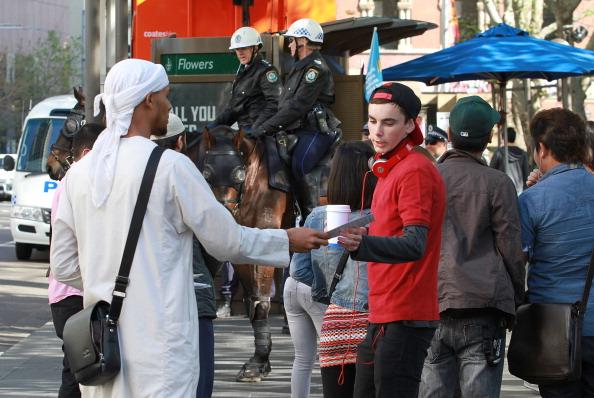 Preacher「Calm In Sydney Following Violent Islamic Protest」:写真・画像(8)[壁紙.com]