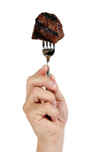 Human Hand「Steak」:スマホ壁紙(0)