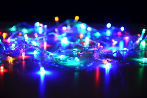 Blinking「holiday lights」:スマホ壁紙(9)