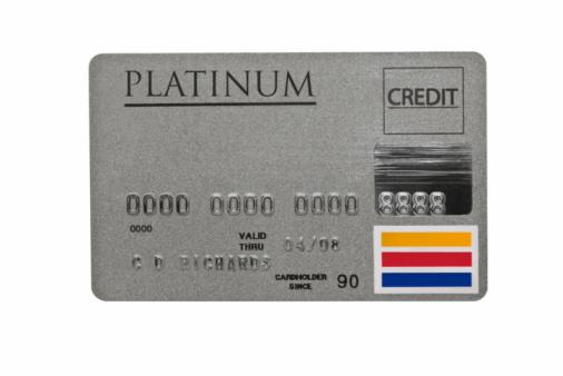 Metallic「Worn Platinum Credit Card」:スマホ壁紙(8)