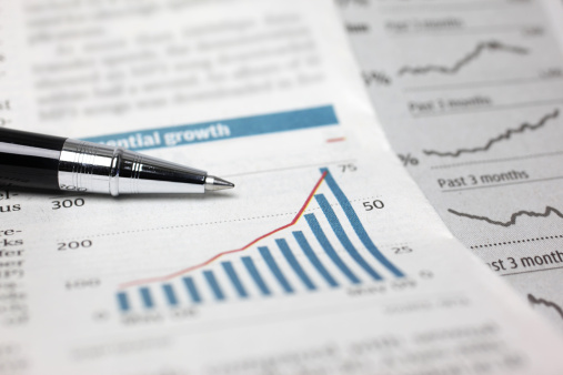 Financial Report「Financial Stock Chart」:スマホ壁紙(8)