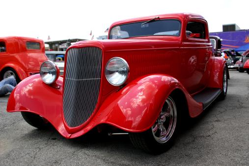 Hot Rod Car「Street Rods ('33 Ford)」:スマホ壁紙(9)