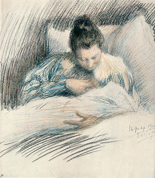 Bedroom「Mother and Child, 1900, (1906). Artist: Leonid Osipovich Pasternak」:写真・画像(11)[壁紙.com]