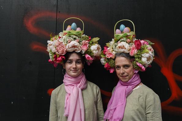 イースター「Easter Bonnets On Display At New York's Annual Easter Parade」:写真・画像(19)[壁紙.com]
