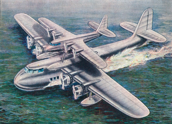 Physical Geography「The Short Mayo Composite aircraft, 1938.  Artist: Unknown.」:写真・画像(14)[壁紙.com]