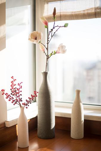 花瓶「Flower and vases」:スマホ壁紙(3)