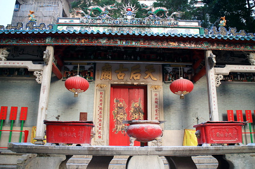 Chinese Lantern「Wan Chai, Central, Hong Kong, Man Mo Temple.」:スマホ壁紙(0)