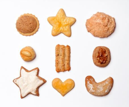 Choosing「Various Christmas cookes, close-up」:スマホ壁紙(18)