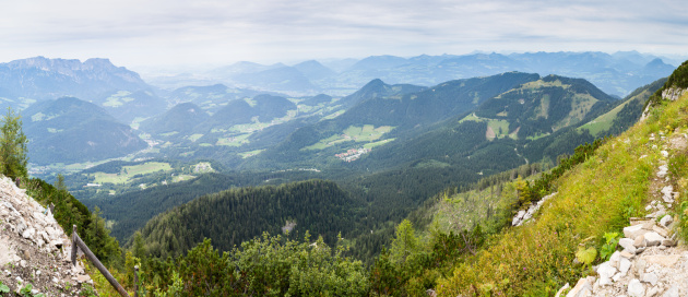 Bunting「Alp View Panorama from Berchtesgaden」:スマホ壁紙(2)