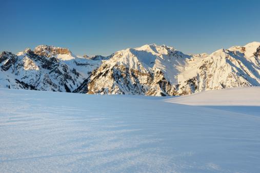 Lechtal Alps「View of snowy lechtal Alps」:スマホ壁紙(18)