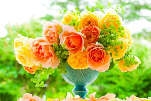 Flower Arrangement「Yellow Roses」:スマホ壁紙(18)